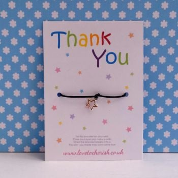 Thank You Wish/Friendship Bracelet