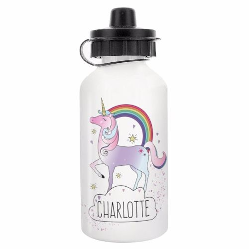 Unicorn Personalised Drinks Bottle