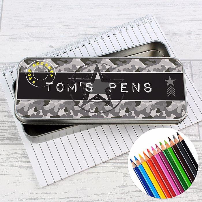 Pens, Pencils & Pencil Cases