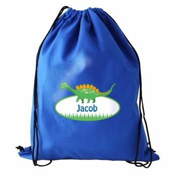 Dinosaur Personalised Swim & Kit Bag