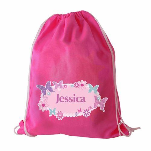 Butterfly Personalised Swim & Kit Bag