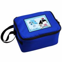 Pirate Boy's Personalised Blue Lunch Bag