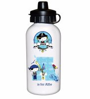 Pirate Personalised Drinks Bottle