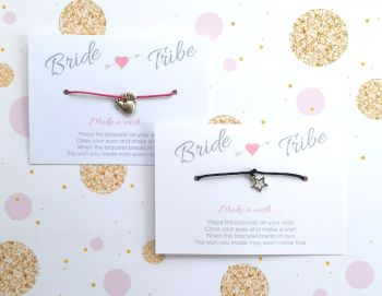 Bride Tribe Hen Party Wish/Friendship Bracelets