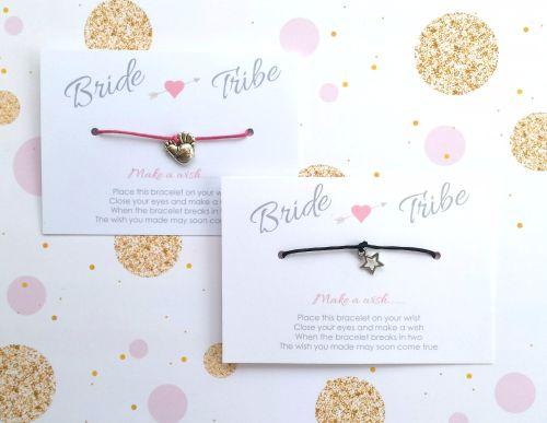 Bride Tribe Hen Party Wish/Friendship Bracelets