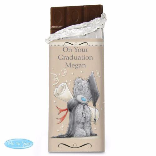 Me To You Graduation Milk Chocolate Bar