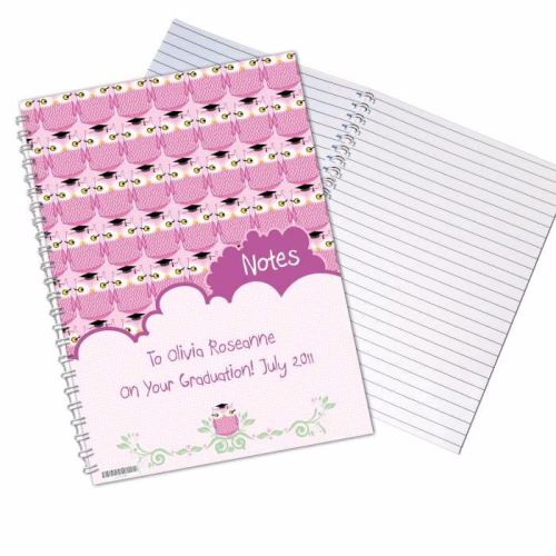 Miss Owl Female A5 Notebook