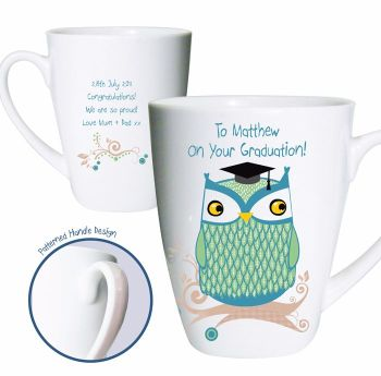 Mr Owl Latte Mug