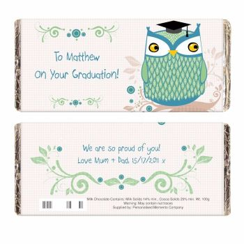 Mr Owl Milk Chocolate Bar