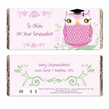 Miss Owl Milk Chocolate Bar