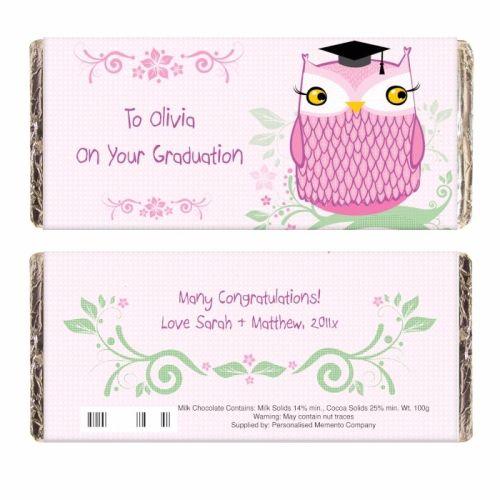 Miss Owl Milk Chocolate Bar