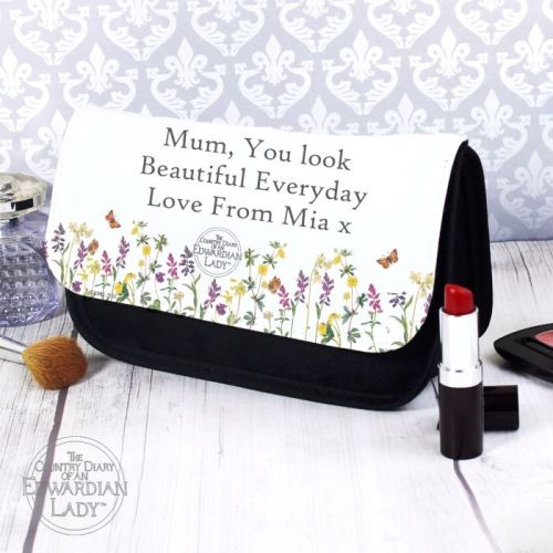 Country Diary Personalised Make Up Bag