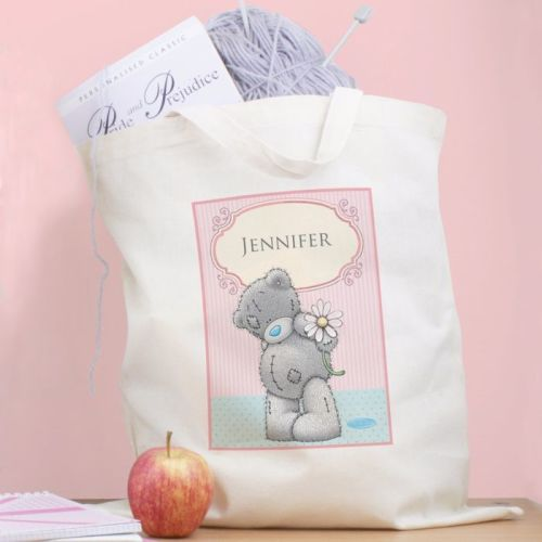 Me To You Daisy Personalised Cotton Bag