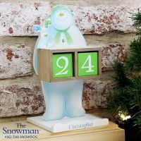 The Snowman & Snowdog Personalised Advent Calendar