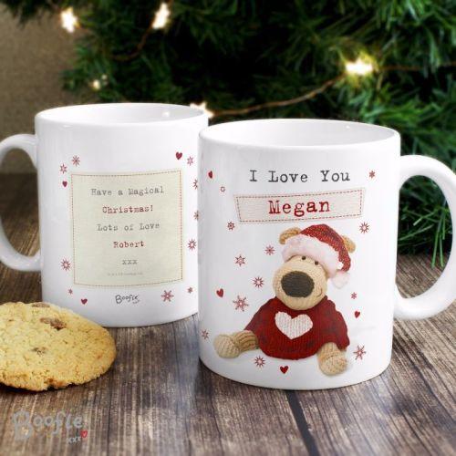 Boofle Personalised Christmas Mug