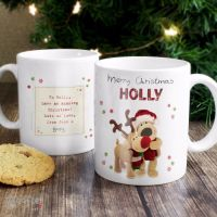 Boofle Reindeer Personalised Christmas Mug