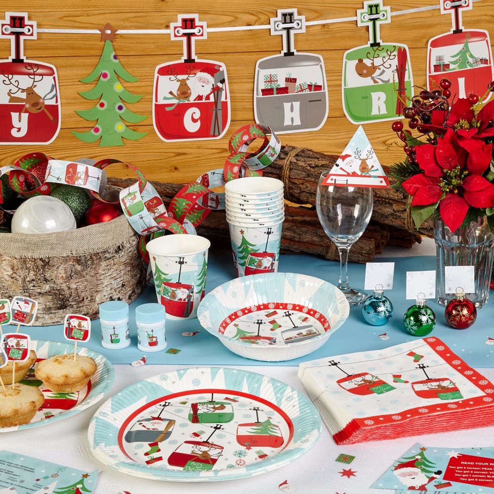 </001>Christmas Table & Room Decorations