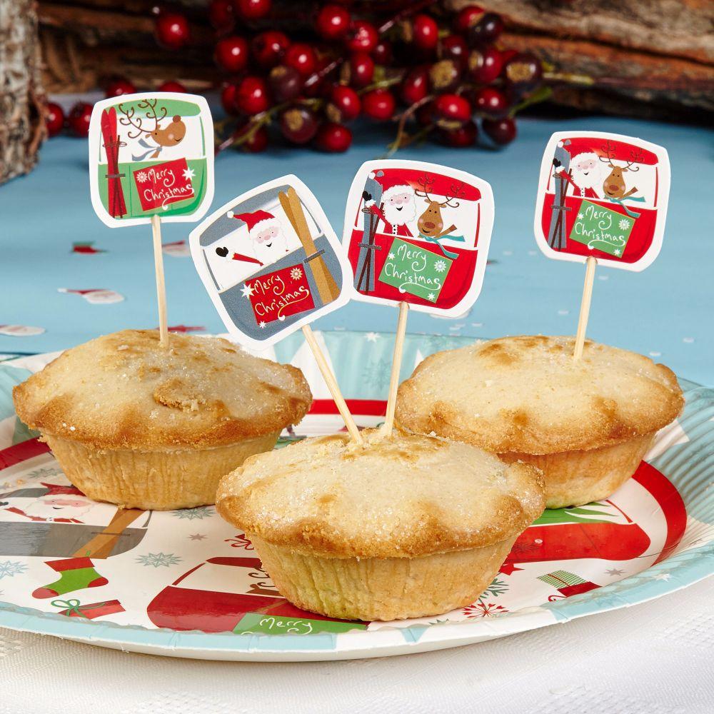 Mince Pie Sticks & Food Decorations