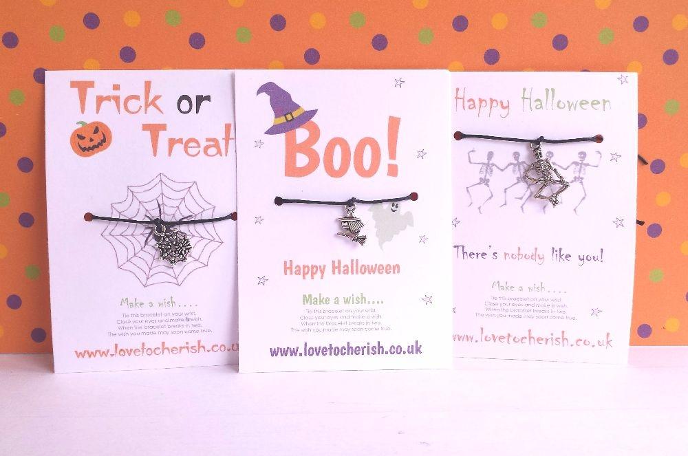 Halloween Wish Bracelets