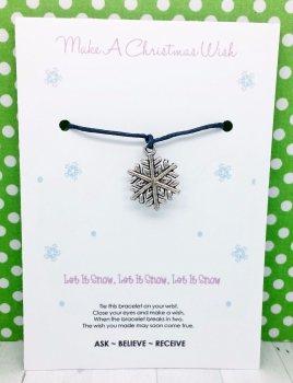 Snowflake Wishing / Friendship Bracelet