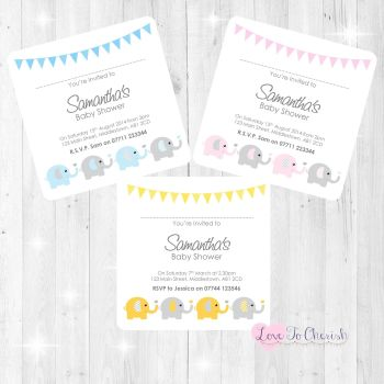 Baby Shower Invites & Thank You Cards