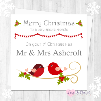 Christmas Personalised Cards