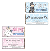 Bang On The Door Personalised Mr or Mrs Milk Chocolate Bar