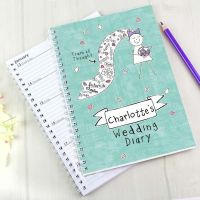 Purple Ronnie Personalised A5 Wedding Diary