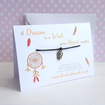 A Dream Is A Wish Your Heart Makes - Friendship / Wish Bracelet