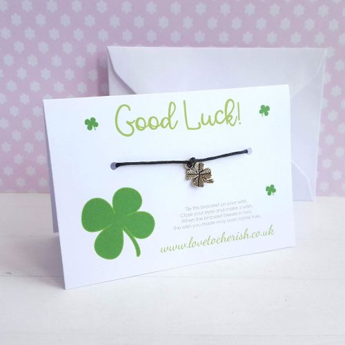 Good Luck Friendship / Wish Bracelet