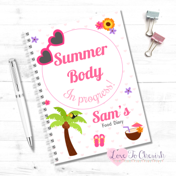 Summer Body In Progress - Personalised Food Diary