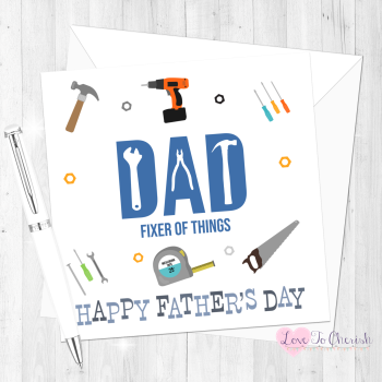 DIY Personalised Father's Day Card