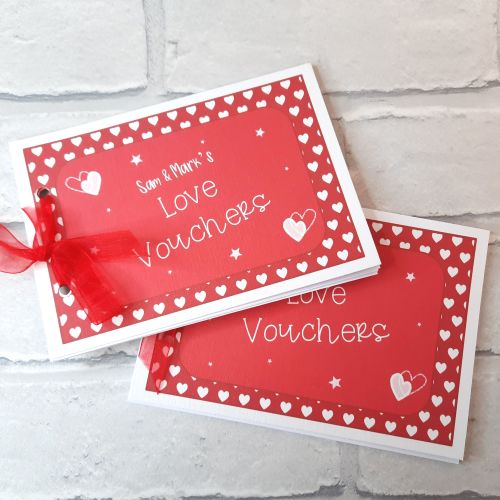Red Love Voucher Booklet
