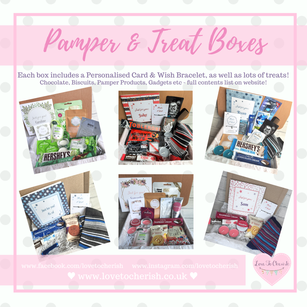 Pamper and Treat Boxes