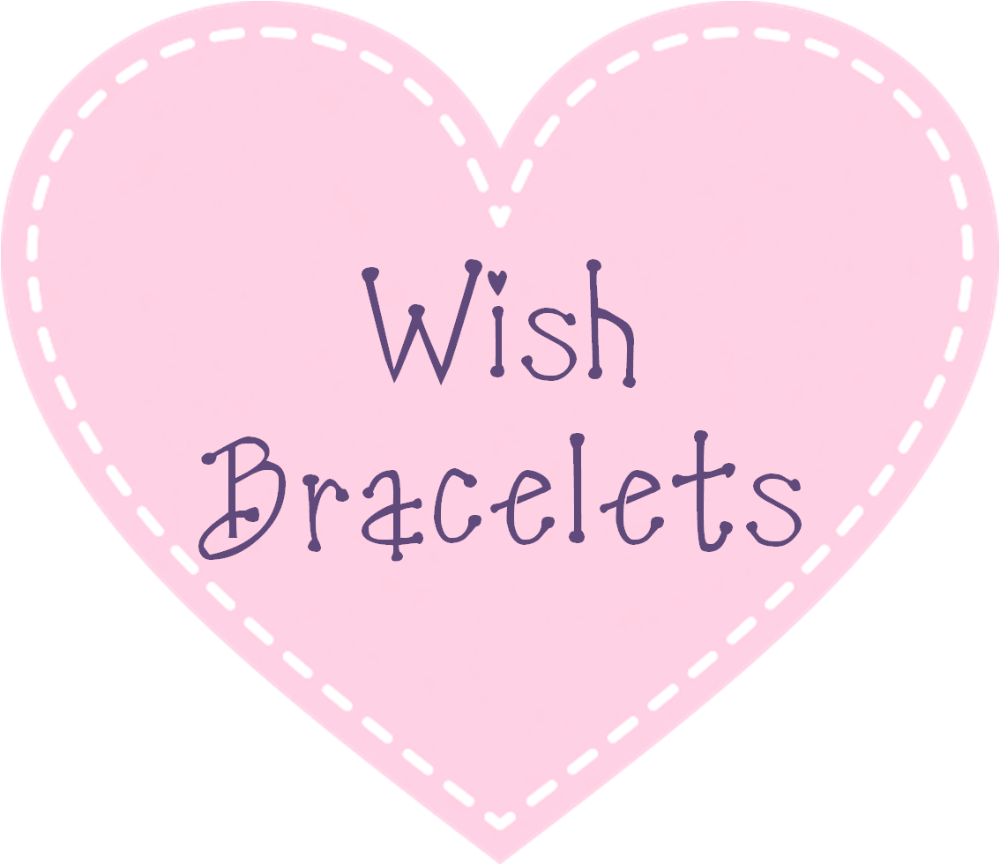 </004>Wish Bracelets & Wooden Tokens