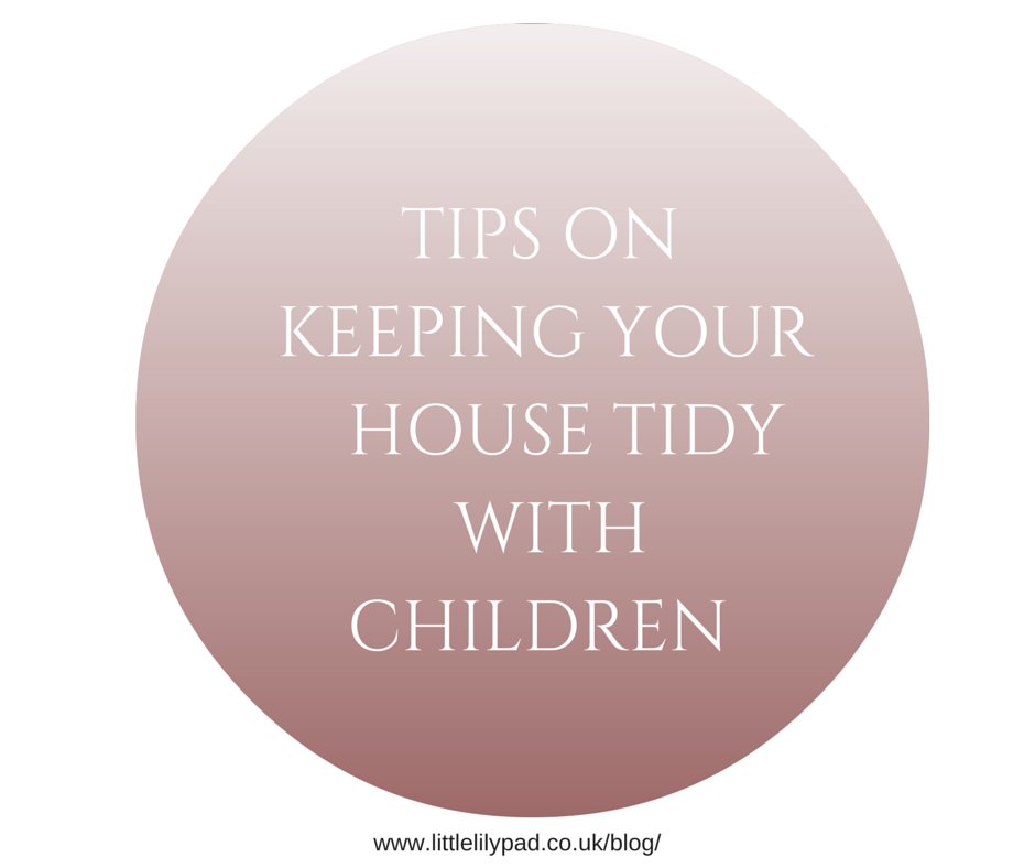 Tips on keeping the house tidy