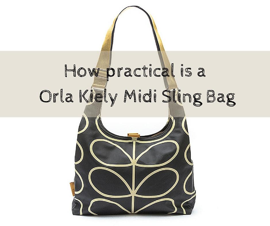 How practical is a Orla Kiely Midi Sling Bag