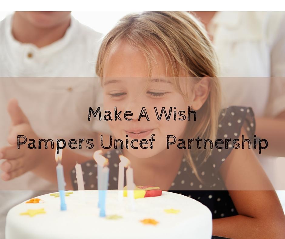 Make A WishPampers Unicef Partnership
