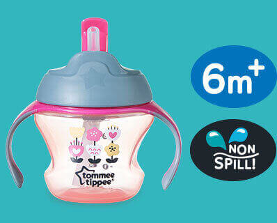 Tommee Tippee 6m Straw Cup