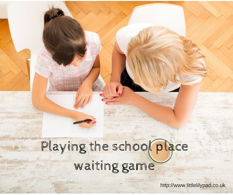 LLP - Playing the school place waiting game