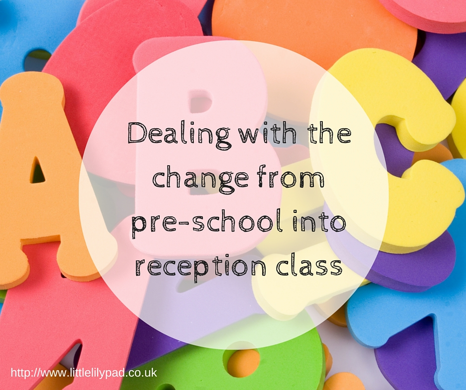LLP - Dealing with the change from pre-school into reception