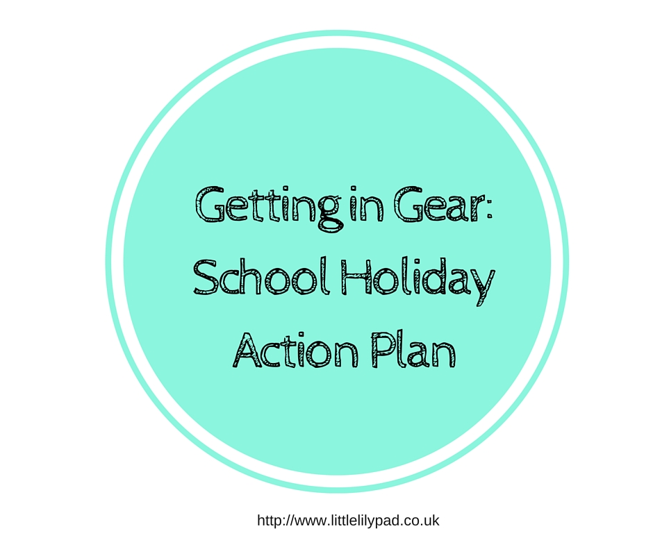 LLP - School Holiday ACtion plan