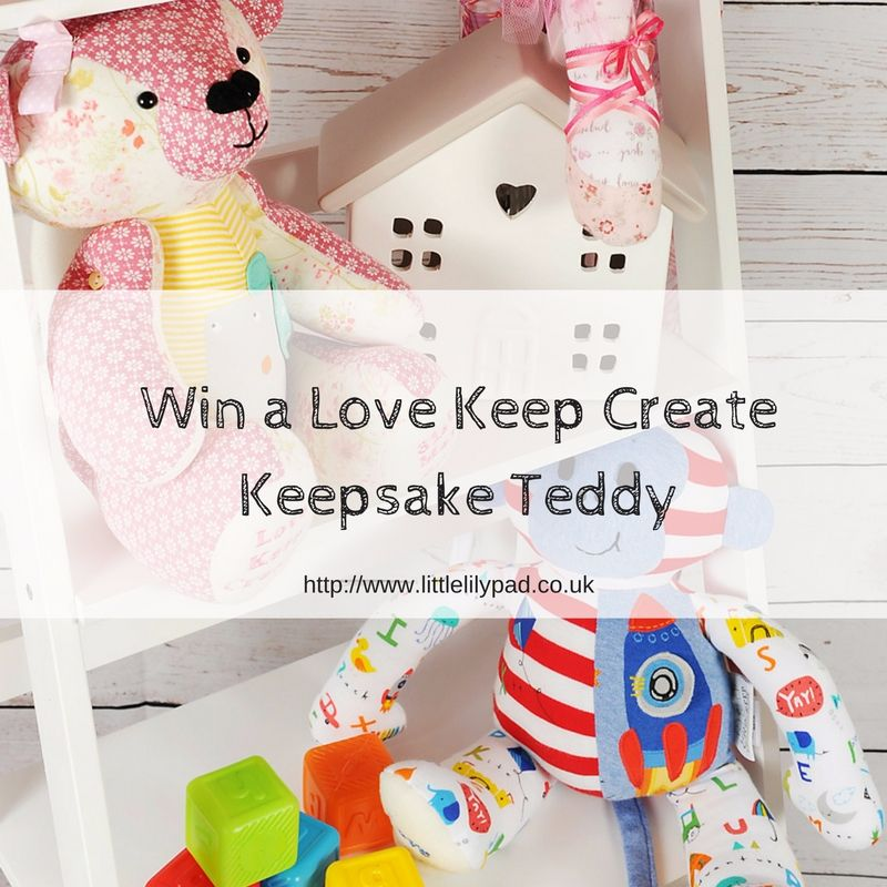 Win a Love Keep CreateKeepsake Teddy