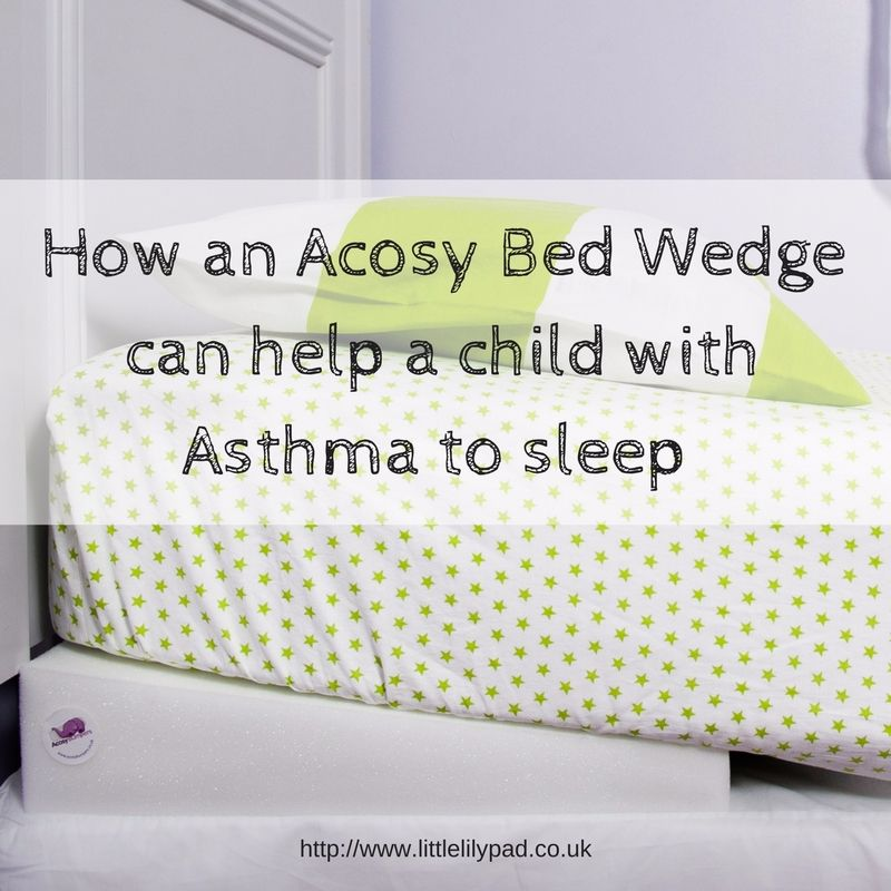 How an Acosy Bed Wedge can help a child with Asthma to sleep