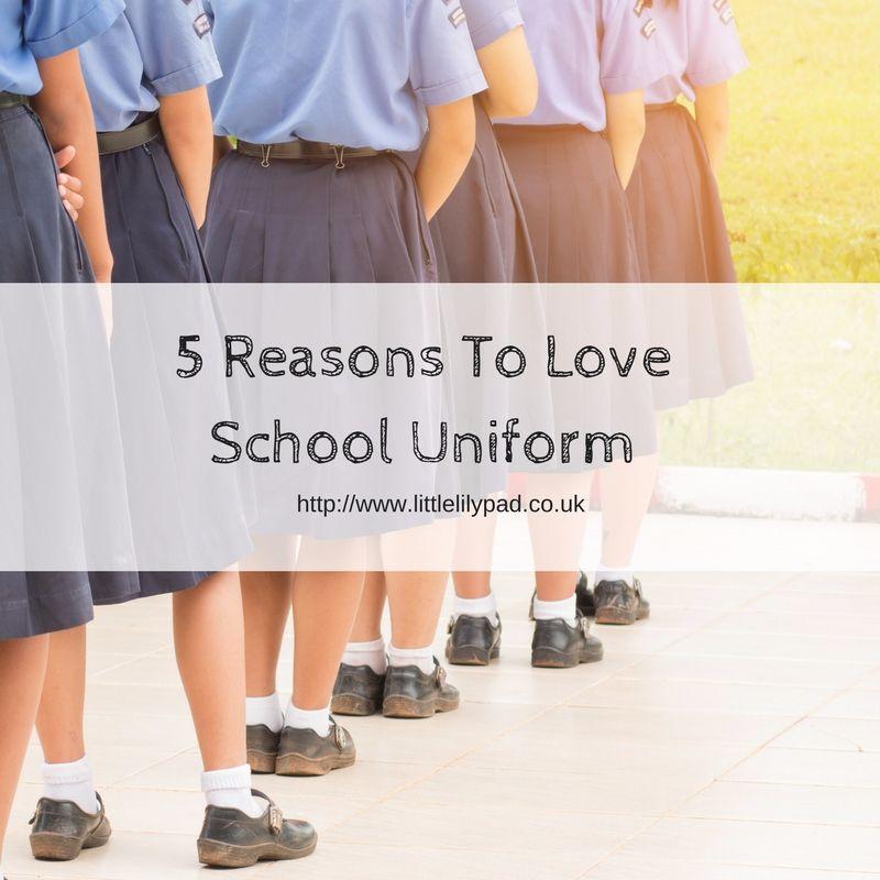 The 5 Reasons To Love School Uniform