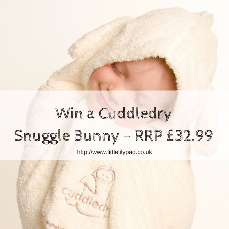 Win a CuddledrySnuggle Bunny - RRP £32.99