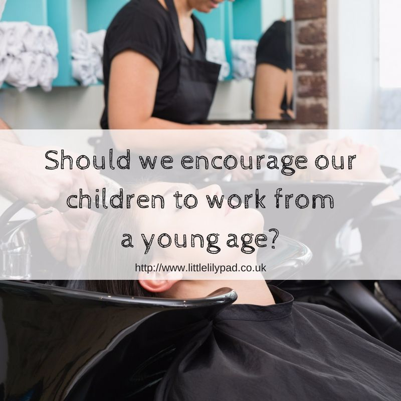 Should we encourage our children to work from a young age-