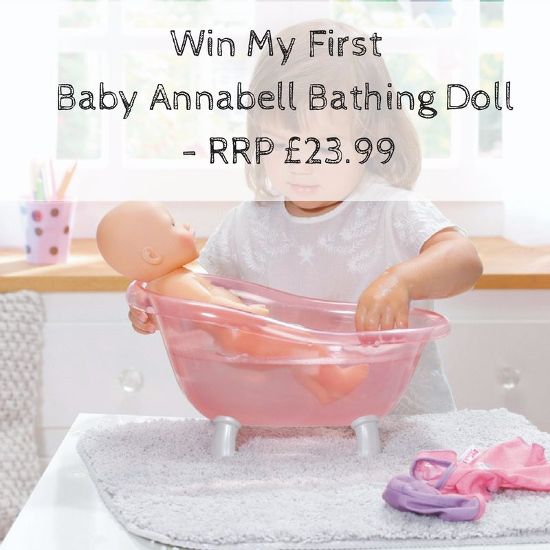 Win a My First Baby Annabell Bathing Doll - RRP £23.99