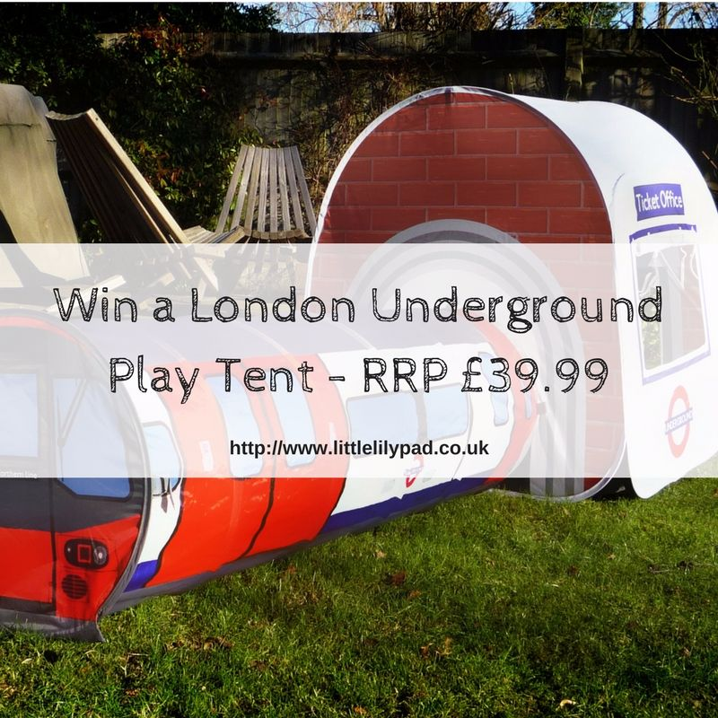 Win a London Underground Play Tent - RRP £39.99