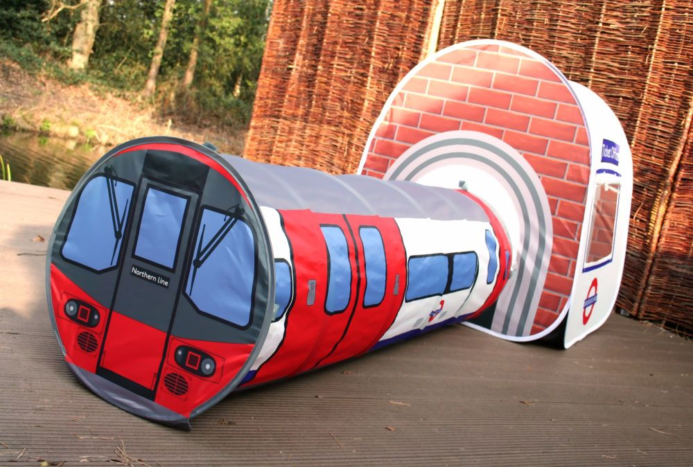 Monster - Underground Tent 1 & Win a London Underground Play Tent - RRP £39.99 - Blog : Little ...